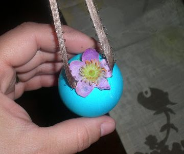 DIY/How to Make an Easter Tree