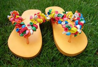 A Summer Flip-Flop Craft