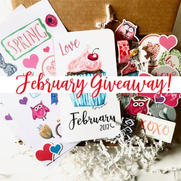 February Planning Kit Giveaway!